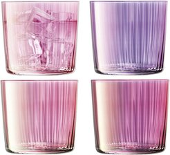 Assorted Gems Tumbler - Set of 4 - Garnet - 310ml