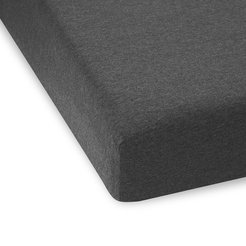 Body ID Fitted Sheet - Charcoal - Super King