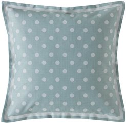 Button Spot Pillow - 40x40 - Mint