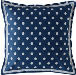 Button Spot Pillow - 40x40 - Navy