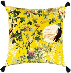 Royal Garden Velvet Pillow - 50x50cm