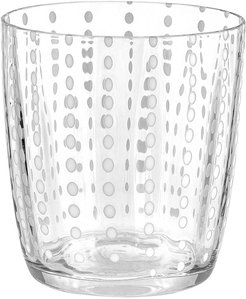 Carnival Tumbler - Set of 6 - Clear