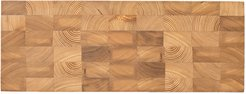 Chess Cutting Board - Natural - Rectangle Small