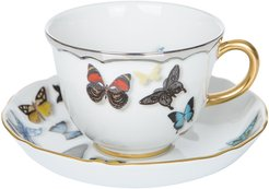 Butterfly Parade Teacup & Saucer