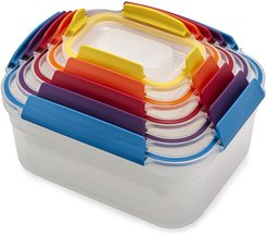 Nest Lock Compact Storage Containers - Multicolor - Set of 5