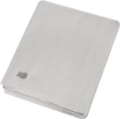1828 - Large Soft Fleece Blanket - Light Gray