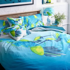 Sipping Nectar Duvet Set - Double