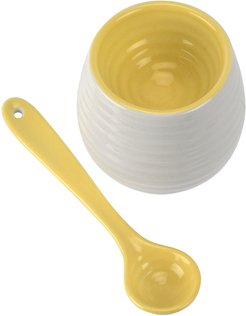 Egg Cup & Spoon - Sunshine Yellow