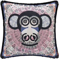 Oroscopo Reversible Pillow - 40x40cm - Monkey