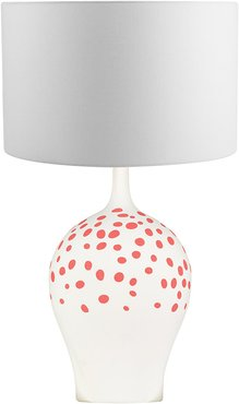 Angelica Table Lamp - Rouge