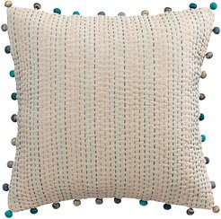Gastounet Pillow - Water Green - 45x45cm