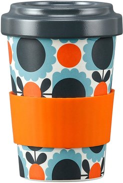 Bamboo Travel Cup - Scallop Flower Sky