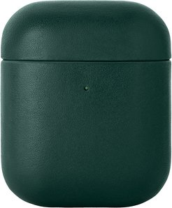 Leather Airpods Case - Green