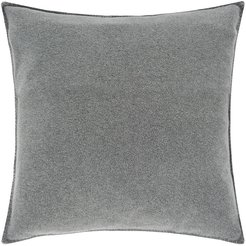 1828 - Soft Fleece Pillow - 50x50cm - Medium Gray