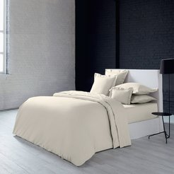 Alcove Duvet Cover - Ivory - Double