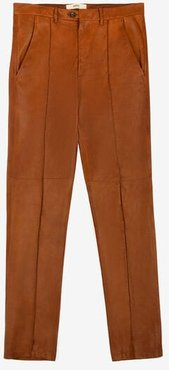 Leather Pants Brown 52