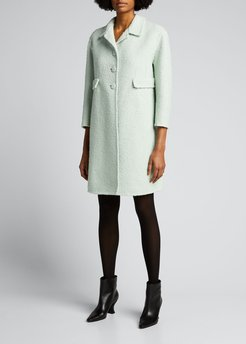 Long Boucle Jacket
