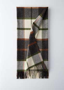 Iceland Fringed Check Throw