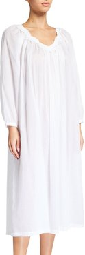 Zeina Long-Sleeve Nightgown
