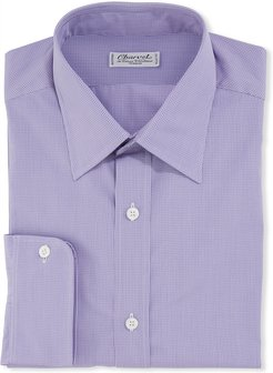 Check Cotton Dress Shirt