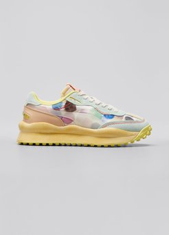 x KidSuper Style Rider Watercolor Sneakers