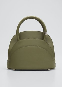 Millefoglie M Mini Leather Top-Handle Bag