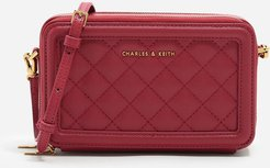 Quilted Long Wallet