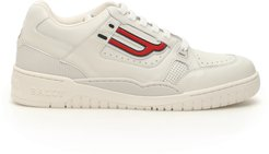 KUBA T SNEAKERS 5 White, Red Leather