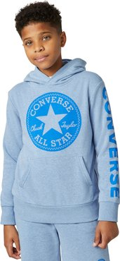 Heathered French Terry Chuck Taylor Patch Pullover