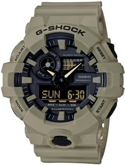 G-Shock Tan Digital/Analog Watch