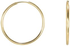 Mini Endless Hoops, Gold 1SIZE