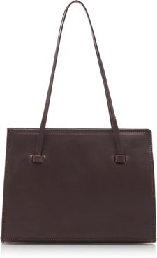 Lucia Leather Top Handle Bag