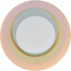 Set-of-Two Fluen Dessert Plates