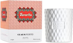 Favorito Red Poppy-Scented Candle, 270g