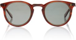 Crosby S Honey Acetate Round-Frame Sunglasses