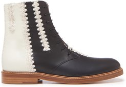 Gabriela Hearst Rhodes Leather Ankle Boots