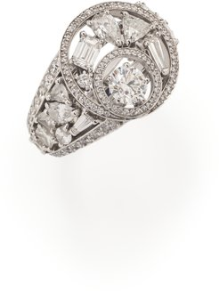 Tiina Smith Vintage Chanel Fine Jewelry Cosmos Diamond Ring