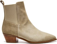 Flattered Willow Suede Ankle Boots