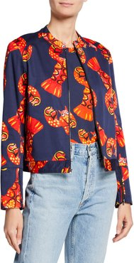 Lobster Graphic Jacket