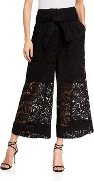 Corded Lace Culottes
