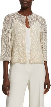 Pearly Embroidered Jacket