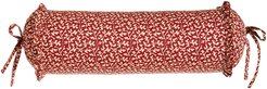 """French Country Neck Roll Pillow, 18"""" x 6"""""""