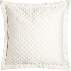 """Jackie Quilted European Pillow, 32""""Sq."""