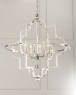 Open 8-Light Chandelier