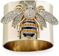 Striped Bee Napkin Rings, Set of 2