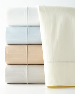 Two Standard Marcus Collection 400 Thread-Count Striped Pillowcases
