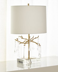 Branched Crystal Table Lamp