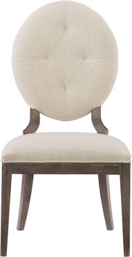 Pair of Clarendon Oval-Back Side Chairs