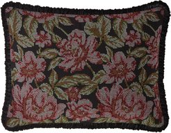 Macbeth Floral Standard Sham with Piping