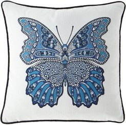 Mariposa Corded Butterfly Pillow